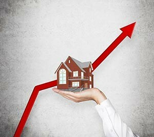 inflation-adjusted property growth