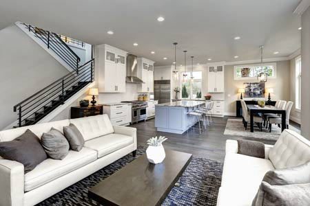 Northbridge home interior