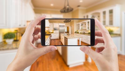 take photos at open homes