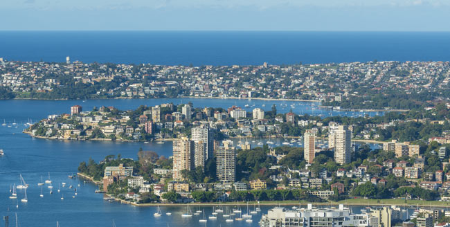 Sydney property in the eastern suburbs